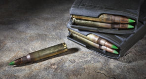 Loaded magazines Stock Images