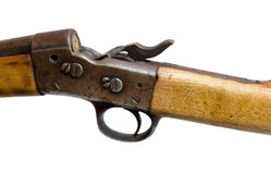 Loaded old rifle Stock Image