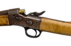 Loaded old rifle Royalty Free Stock Photography