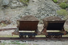 Loaded Wagons Royalty Free Stock Photos
