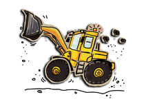 Loader Royalty Free Stock Image