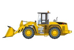 Loader Royalty Free Stock Photo