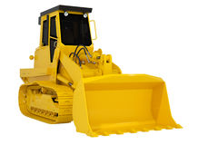 Loader in the background. Royalty Free Stock Image