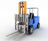Loader without cargo Stock Images