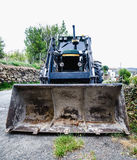 Loader excavation and earthmoving heavy machinery stock image
