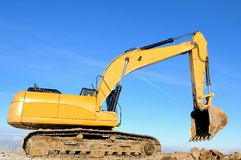 Loader excavator Royalty Free Stock Image