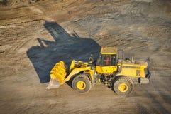 Loader excavator construction machinery equipment Stock Photo