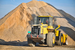 Loader excavator construction machinery equipment stock photography