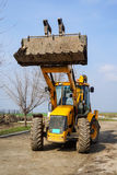 Loader Excavator Royalty Free Stock Photography
