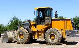 Loader excavator Stock Image