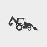 Loader icon in a flat design in black color. Vector illustration eps10 Stock Photo