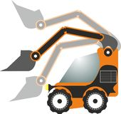 Loader illustrated Stock Image