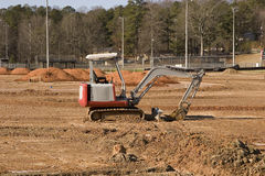 Loader In Dirt Field Stock Photography