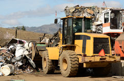 Loader Scrap Royalty Free Stock Images