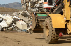 Loader Scrap Stock Photo