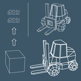 Loader.Vector illustration Stock Photo
