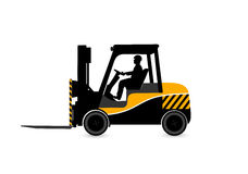 Loader on a white background Stock Image