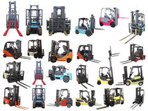 Loaders. Isolated under the white background Royalty Free Stock Image