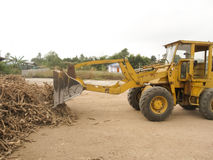 Loaders. Loading are pieces of wood Royalty Free Stock Photography