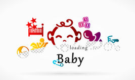 Loading baby Stock Photos