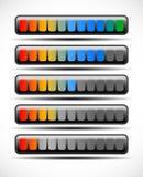 Loading bar. S, preloader graphics. Vector Stock Image