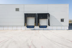 Loading bay for truck Stock Image