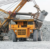 Loading in BelAZ Stock Image