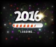 2016 loading Royalty Free Stock Image