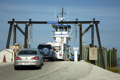 Loading Car Ferry Stock Photo