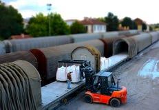 Loading the Cargo Stock Photos