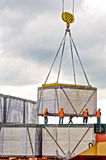Loading cargo Royalty Free Stock Photography