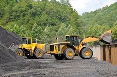 Loading Coal Stock Image