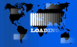 Loading concept Royalty Free Stock Photos