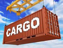 Loading Container Stock Images