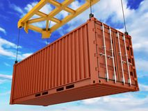 Loading Container Stock Photography