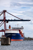 Loading Container Ship. Royalty Free Stock Photos