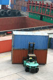 Loading containers Stock Photography