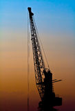 Loading crane Royalty Free Stock Image