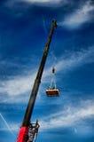 Loading Crane Royalty Free Stock Photos
