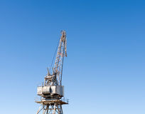 Loading crane at shipyard Royalty Free Stock Image