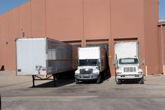 Loading Dock Stock Photography