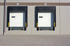 Loading Dock bays Stock Photo