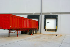 Loading Dock bays Royalty Free Stock Photo
