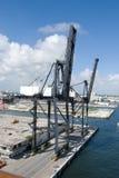 Loading Dock Crane Royalty Free Stock Photos