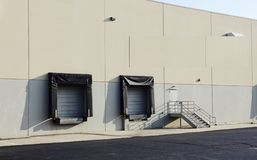 Loading Dock at Distribution Center royalty free stock photo