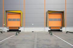 Loading Dock Royalty Free Stock Photo