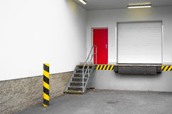Loading dock Royalty Free Stock Images