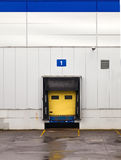 Loading dock at a warehouse Royalty Free Stock Photography