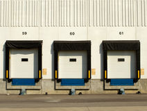 Loading Docks Royalty Free Stock Photo