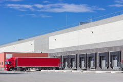 At the loading docks Stock Images